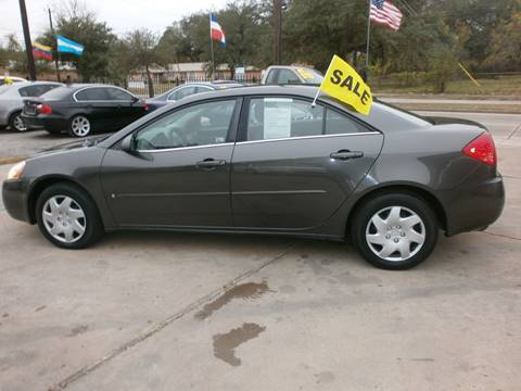 2007 Pontiac G6 for sale at Under Priced Auto Sales in Houston TX
