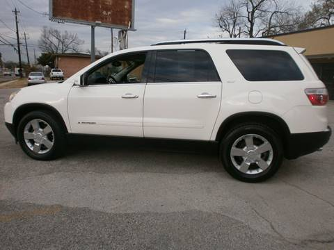 2008 GMC Acadia for sale at Under Priced Auto Sales in Houston TX