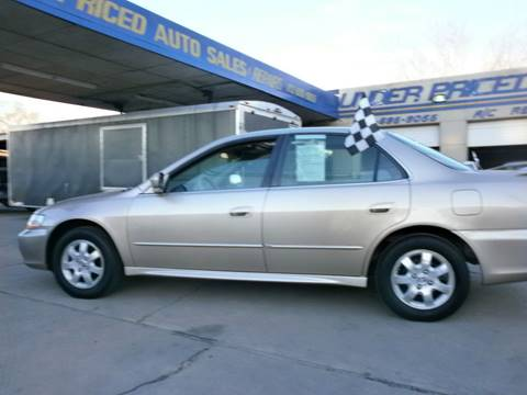 2001 Honda Accord for sale at Under Priced Auto Sales in Houston TX