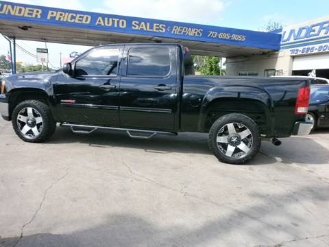 2007 GMC Sierra 1500 for sale at Under Priced Auto Sales in Houston TX