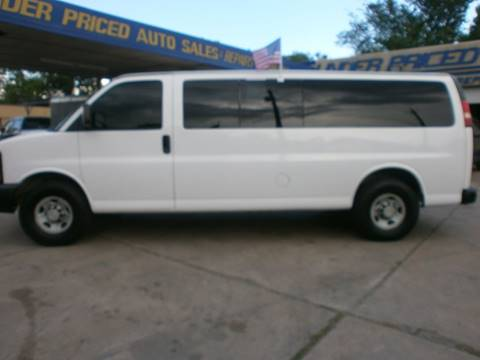 2008 Chevrolet Express Passenger for sale at Under Priced Auto Sales in Houston TX