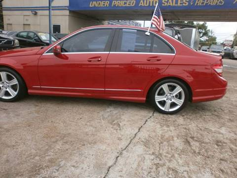 2010 Mercedes-Benz C-Class for sale at Under Priced Auto Sales in Houston TX