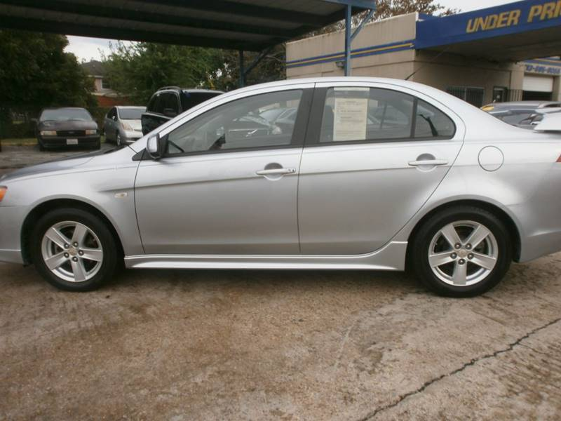 2009 Mitsubishi Lancer for sale at Under Priced Auto Sales in Houston TX