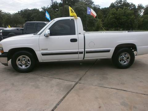 2002 Chevrolet Silverado 1500 for sale at Under Priced Auto Sales in Houston TX