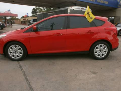 2012 Ford Focus for sale at Under Priced Auto Sales in Houston TX