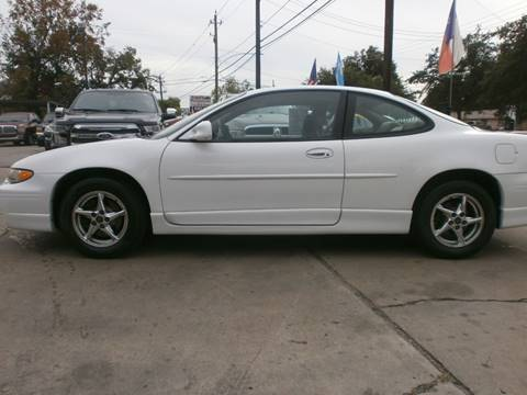 2000 Pontiac Grand Prix for sale at Under Priced Auto Sales in Houston TX