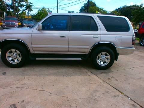 2000 Toyota 4Runner for sale at Under Priced Auto Sales in Houston TX