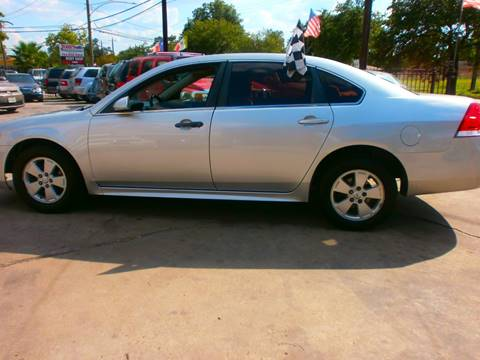 2010 Chevrolet Impala for sale at Under Priced Auto Sales in Houston TX