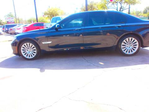2009 BMW 7 Series for sale at Under Priced Auto Sales in Houston TX