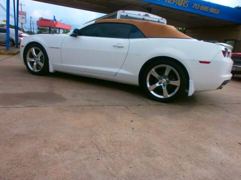 2011 Chevrolet Camaro for sale at Under Priced Auto Sales in Houston TX