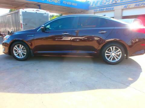 2014 Kia Optima for sale at Under Priced Auto Sales in Houston TX