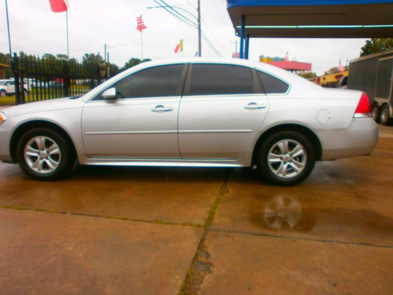 2013 Chevrolet Impala for sale at Under Priced Auto Sales in Houston TX