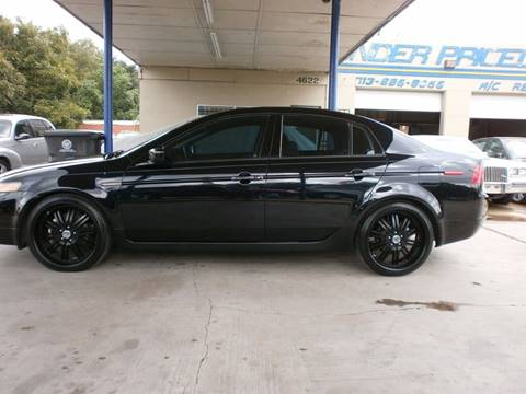 2006 Acura TL for sale at Under Priced Auto Sales in Houston TX