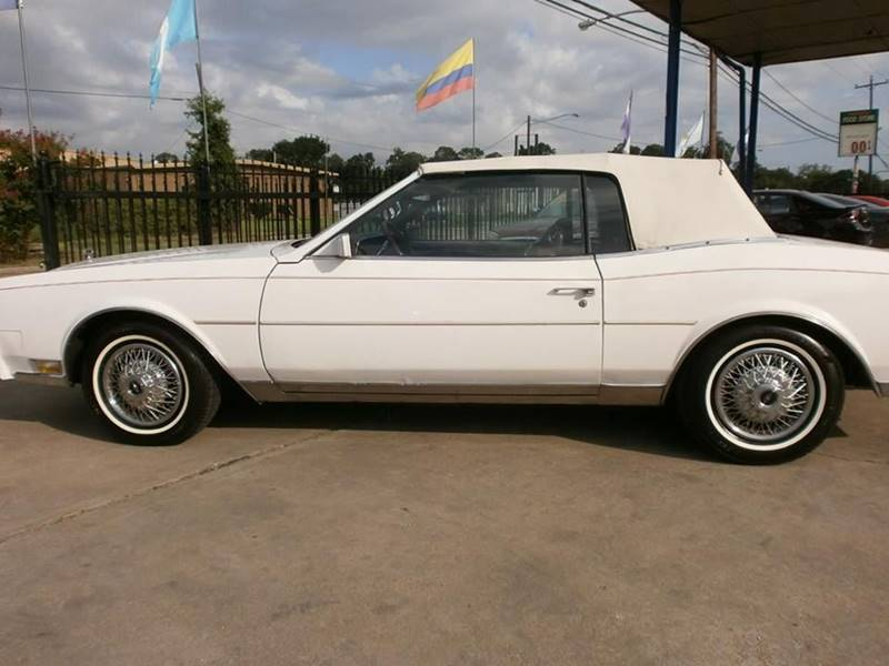 1983 Buick Riviera for sale at Under Priced Auto Sales in Houston TX