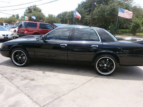 2005 Mercury Grand Marquis for sale at Under Priced Auto Sales in Houston TX