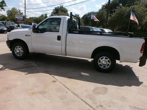 2003 Ford F-250 Super Duty for sale at Under Priced Auto Sales in Houston TX