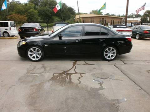2005 BMW 5 Series for sale at Under Priced Auto Sales in Houston TX