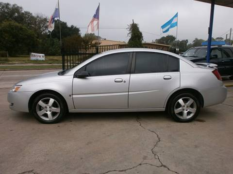 2007 Saturn Ion for sale at Under Priced Auto Sales in Houston TX