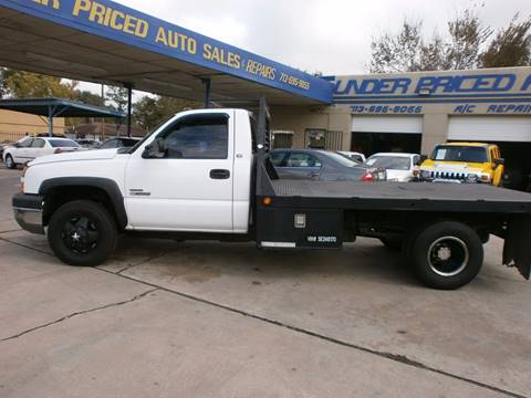 2005 Chevrolet Silverado 3500 for sale at Under Priced Auto Sales in Houston TX