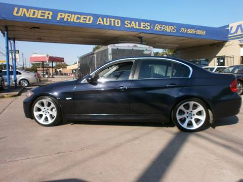 2008 BMW 3 Series for sale at Under Priced Auto Sales in Houston TX