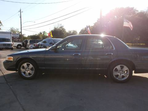 2011 Ford Crown Victoria for sale at Under Priced Auto Sales in Houston TX