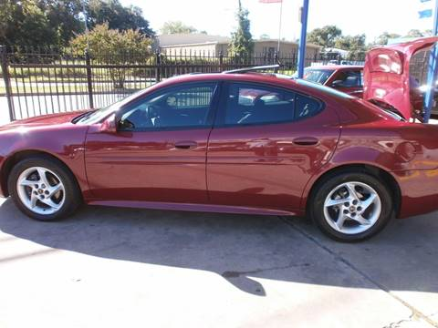2004 Pontiac Grand Prix for sale at Under Priced Auto Sales in Houston TX