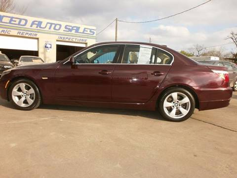 2008 BMW 5 Series for sale at Under Priced Auto Sales in Houston TX