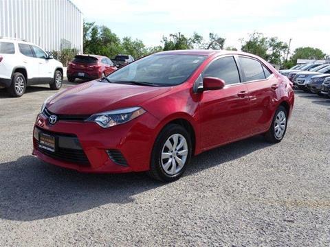2015 Toyota Corolla for sale in Refugio, TX