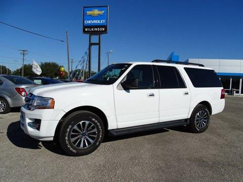 2015 Ford Expedition EL for sale in Refugio, TX
