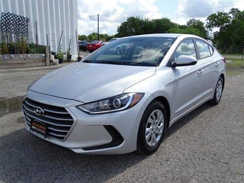 2017 Hyundai Elantra for sale in Refugio, TX