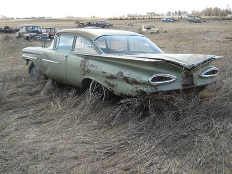 1959 Chevrolet Bel Air for sale in Bowdle, SD