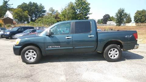2005 Nissan Titan for sale in Manchester, NH