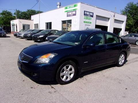2007 Nissan Altima Hybrid For Sale In Manchester, NH