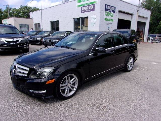 2013 Mercedes Benz C Class For Sale At Family Certified Motors In Manchester  NH