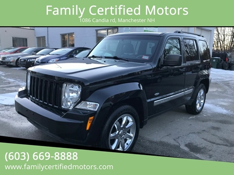 2012 Jeep Liberty for sale in Manchester, NH