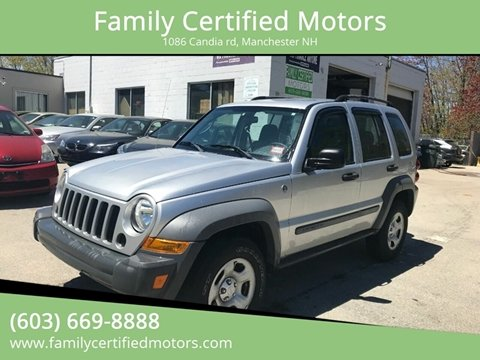 2005 Jeep Liberty for sale in Manchester, NH