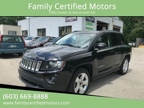 2014 Jeep Compass for sale in Manchester, NH