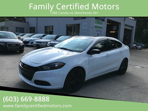 2015 Dodge Dart for sale in Manchester, NH
