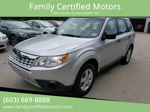 2011 Subaru Forester for sale in Manchester, NH
