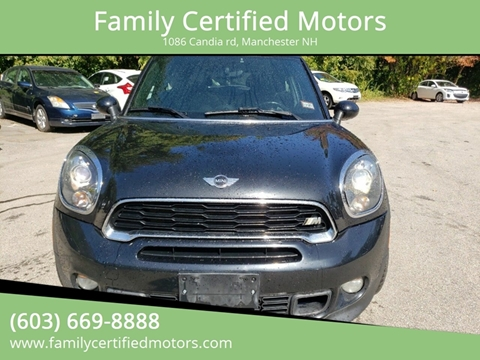 2013 MINI Paceman for sale in Manchester, NH