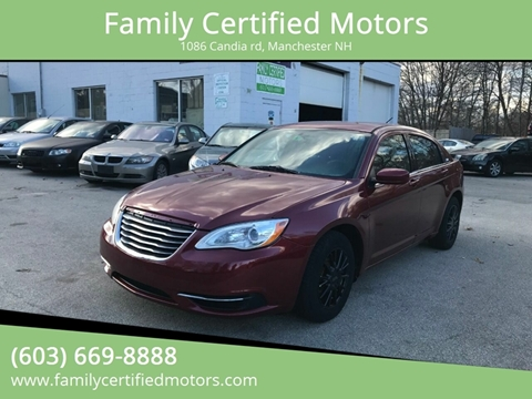 2014 Chrysler 200 for sale in Manchester, NH