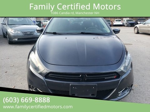 2013 Dodge Dart for sale in Manchester, NH