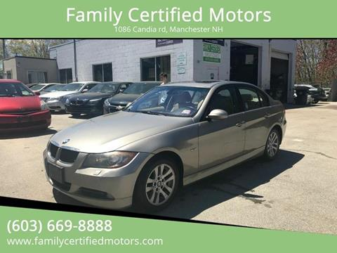 2007 BMW 3 Series for sale in Manchester, NH