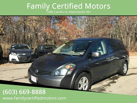 2007 Nissan Quest for sale in Manchester, NH