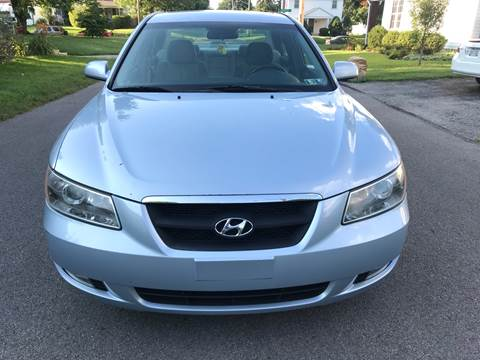 2006 Hyundai Sonata for sale at Via Roma Auto Sales in Columbus OH