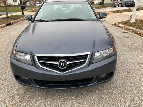 2004 Acura TSX for sale at Via Roma Auto Sales in Columbus OH