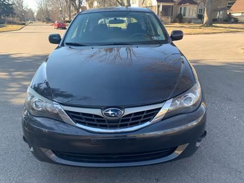 2009 Subaru Impreza for sale at Via Roma Auto Sales in Columbus OH