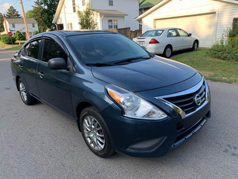 2015 Nissan Versa for sale at Via Roma Auto Sales in Columbus OH