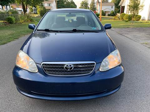 2008 Toyota Corolla for sale at Via Roma Auto Sales in Columbus OH