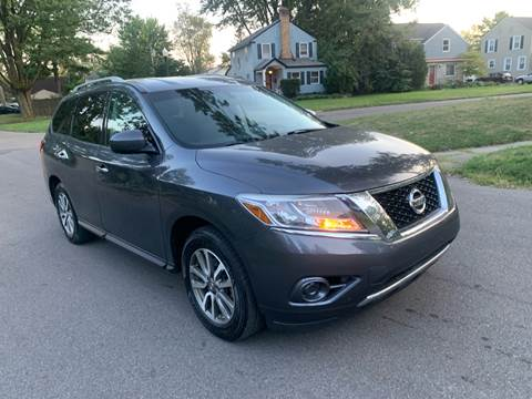 2013 Nissan Pathfinder for sale at Via Roma Auto Sales in Columbus OH